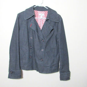 Ann Tylor Loft Medium Denim Lined Jacket